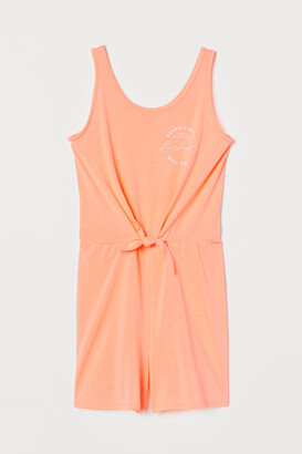 H&M Jersey playsuit