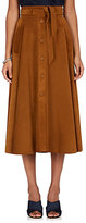 Martin Grant Women's Suede A-Line Skirt