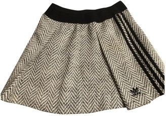 adidas Grey Cotton Skirts