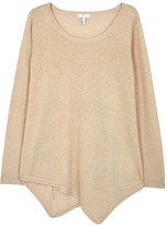 Joie Tambrel Gold Fine-knit Jumper