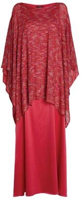 St. John Layered Kaftan Dress
