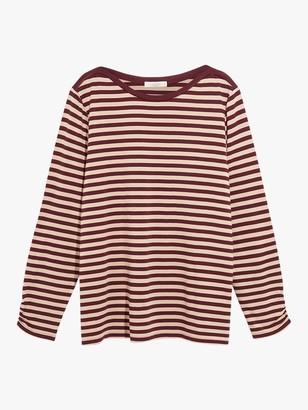 Oasis Curve Stripe Top, Multi