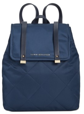 Tommy Hilfiger Amelia Nylon Flap Backpack