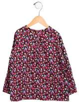 Baby CZ Girls' Floral Print Long Sleeve Top w/ Tags