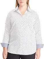 Chaps Plus Size Woven Top