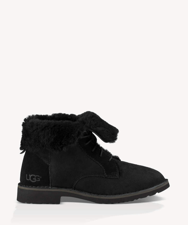 f892a6f1c1d Women's Quincy Lace Up Boots Black Size 6 Suede From Sole Society