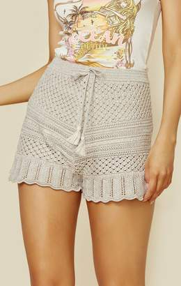 Spell & The Gypsy Collective ATLANTIC CROCHET FLUTTER SHORT