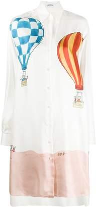 Lanvin Babar printed shirt dress