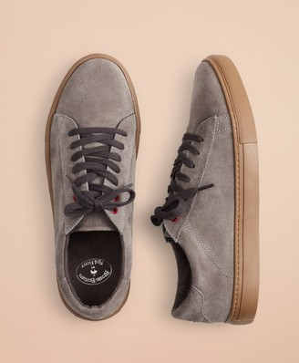 Brooks Brothers Suede Sneakers
