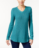 Style&Co. Style & Co. V-Neck Sweater, Only at Macy's