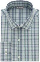 Kenneth Cole Reaction Men's Techni-Cole Slim-Fit Performance Multi-Plaid Dress Shirt
