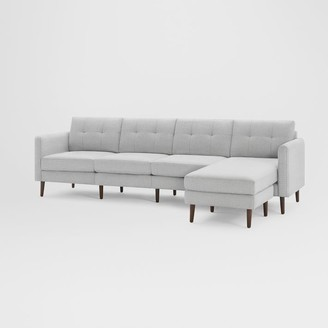 "west elm Burrow Nomad King Reversible Chaise Sectional (112"")"