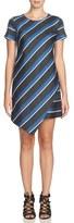 Cynthia Steffe 'Abbey' Stripe Asymmetrical Hem Shift Dress