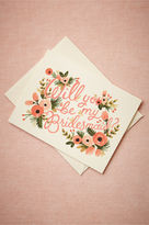 BHLDN Blooming Bridesmaid Card