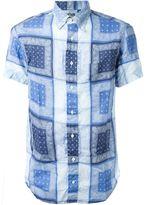 Gitman Brothers paisley print shirt