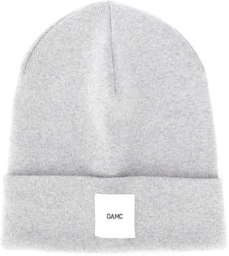 Oamc Logo Patch Beanie Hat