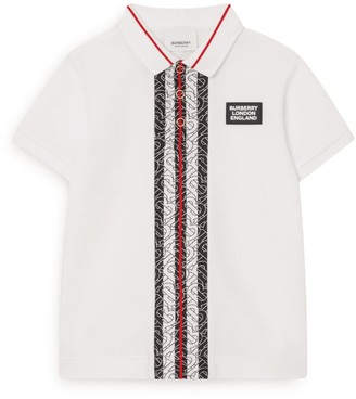 Burberry Kids Icon Stripe Polo Shirt (3-12 Years)