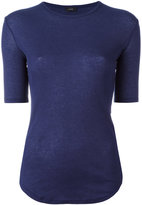 Joseph slim-fit knitted T-shirt - women - Cotton/Cashmere - XL