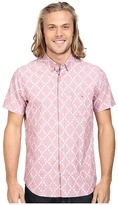 VISSLA Destination Unknown Short Sleeve Printed Woven