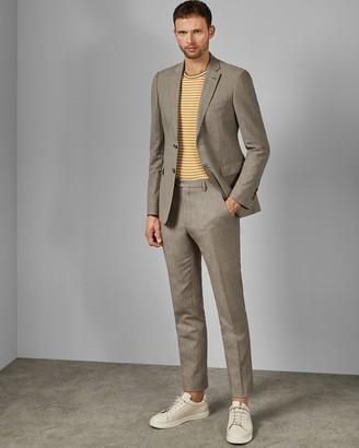 Ted Baker TONET Debonair slim fit linen blend trousers