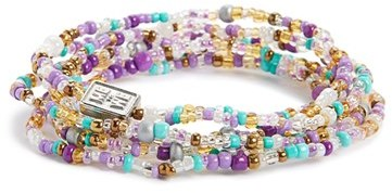 Me to We 'Rafiki - Income' Beaded Convertible Bracelet