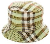Burberry Nova Check Bucket Hat w/ Tags