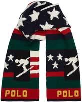 Ralph Lauren Knitted Skier Scarf