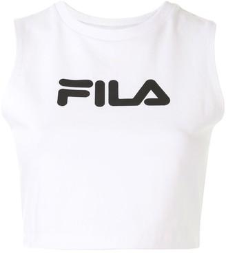 Fila Logo Print Tank Top