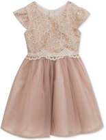 Rare Editions Lace Cap-Sleeve Party Dress, Toddler Girls (2T-5T)