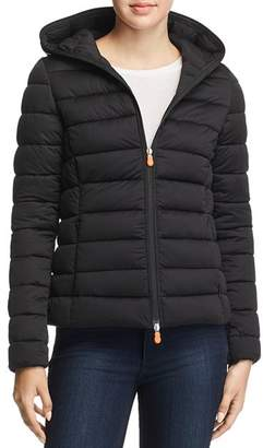 Save The Duck Hooded Short Puffer Coat