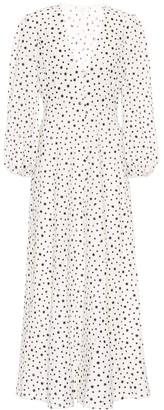 Rixo Blair printed cotton dress