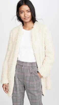 BB Dakota Soft Spot Faux Fur Jacket