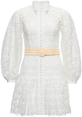 Zimmermann Flared Lace Dress