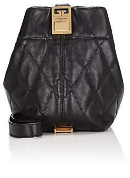 Givenchy Women's GV3 Mini Leather Bucket Bag - Black