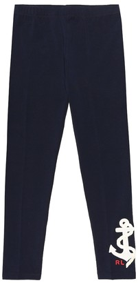Polo Ralph Lauren Stretch-cotton jersey leggings