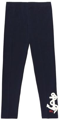 Polo Ralph Lauren Kids Stretch-cotton jersey leggings