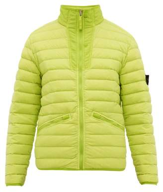 Stone Island Lightweight Down Filled Jacket - Mens - Green
