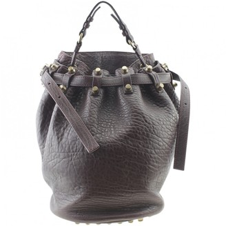 Alexander Wang Burgundy Leather Handbags
