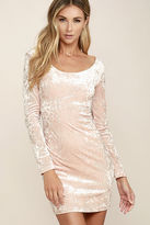 LuLu*s Deja Vu Burgundy Bodycon Dress