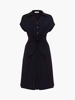 Phase Eight Sierra Sleeveless Shirt Dress, Navy