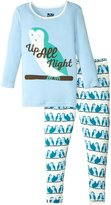 Kickee Pants Print Pajama Set (Toddler/Kid) - Snowy Owls - 3T