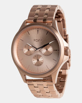 Roxy Womens Messenger 40mm Chronograph Stainless Steel Watch