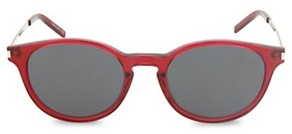 Stella McCartney 52MM Round Sunglasses