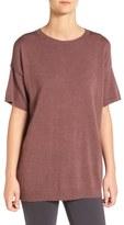 Eileen Fisher Merino Wool Jersey Round Neck Tunic