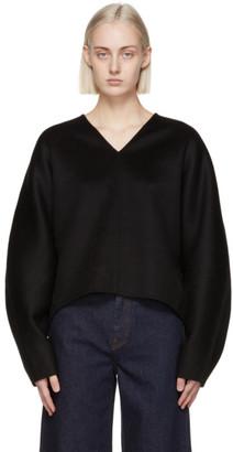 Totême Black Rennes Sweater