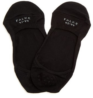 Falke Cool 24/7 Invisible Cotton-blend Liner Socks - Black