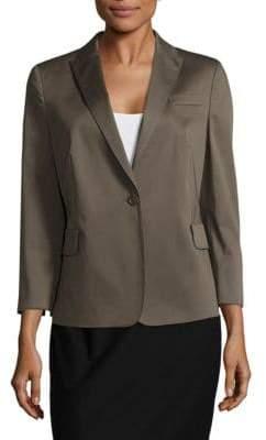 Akris Solid Notch-Lapel Jacket