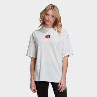 adidas Women's Adicolor 3D Trefoil T-Shirt