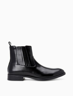 Calvin Klein Cliff Box Leather Boot