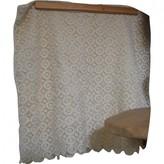 Bel Air Ecru Cotton Skirt for Women